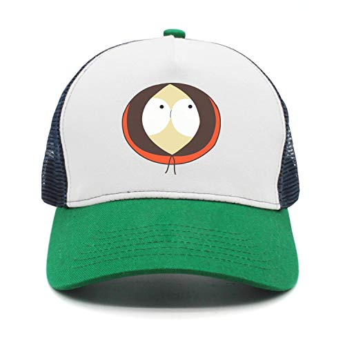 Yang-C Men Women South-Park-Kenny- Plain Baseball Cap Adjustable Unisex Visor -