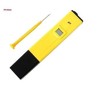 Wiwaplex Portable Digital PH Meter Tester Pocket Pool Water Aquarium Hydroponic Wine Testers Tool