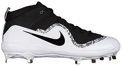 b06186472a005 Nike 917920-001 Mens Air Trout 4 Pro Baseball Cleat - Black/White - 12.5