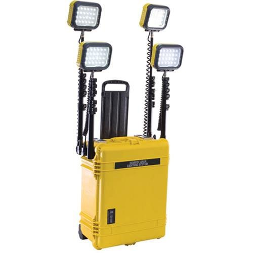 Pelican Remote Area 96 High Flux Lighting System, Yellow