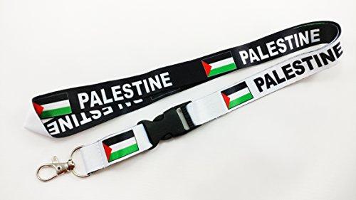 Palestine Flag Reversible Lanyard/keychain (1)