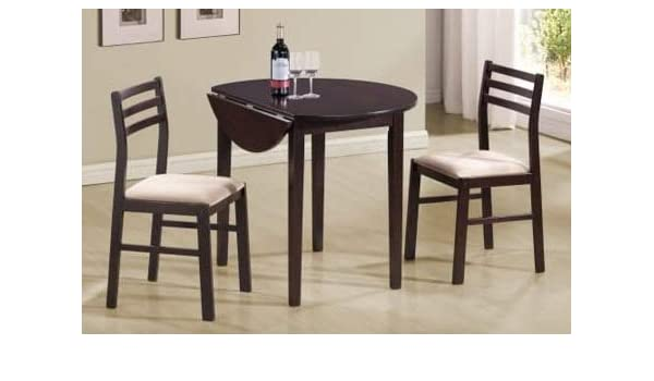 Amazon.com : Dinette Sets For Small Spaces-Dinning Room Table Set ...