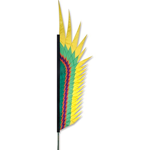 Premier Kites 23896 Electra Feather Banner, 8-1/2-Feet, Yellow