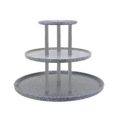 Chefstone Triple Tier Food Tray Riser Size: 24