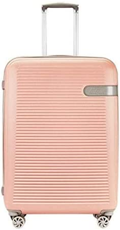 "BXDYA 29"" 拡張可能な8-ホイールスピナーケースハンド荷物のスーツケース搭乗、スーツケースをチェック (Color : Pink)"