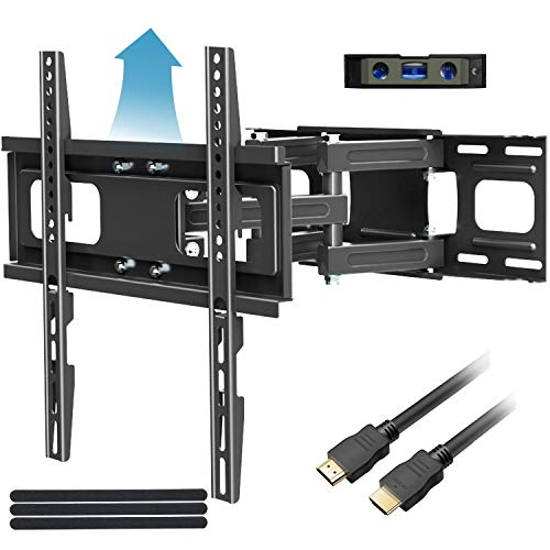 Full Motion TV Mount with Height Setting FOZIMOA TV Wall Mount for Most 32-65 inch LED LCD Plasma Flat Screen…