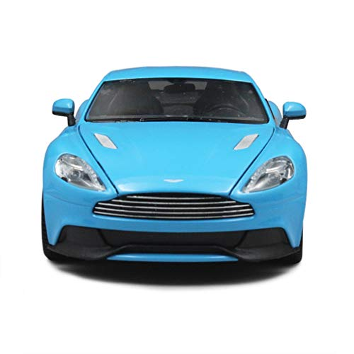 (SXHDMY Car Model Car 1:24 Aston Martin Vanquish Simulation Alloy Die-Casting Toy Jewelry Sports Car Collection Jewelry 18x8x4.5CM car Model)