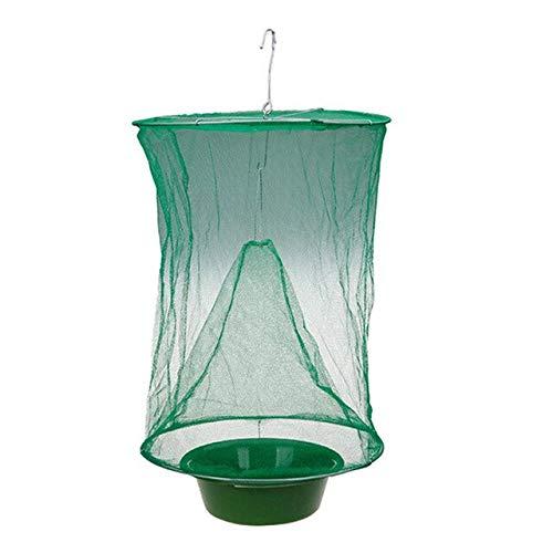 2pcs Fly Kill Pest Control Tools Fly Catcher Killer Flytrap Zapper Cage Net Trap Garden Supplies Killer-Flies Reusable Hanging   1