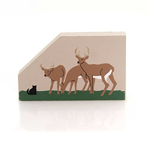 CATS MEOW VILLAGE Deer Wood Accessory Retired Forest Doe 234