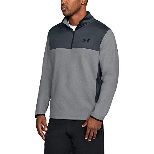 Under Armour ColdGear Infrared Fleece ¼ Zip XXXX-Large Graphite by Under Armour (Image #1)