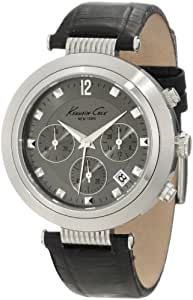 Kenneth Cole New York Men's KC1878 Classic Heritage Series Round Chronograph Classic Sub-Eye Grey Watch