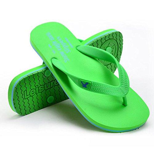 Verde Da Kaki dimensioni QIDI UK9 All'aperto In Blu EU43 Verde Sandali Spiaggia Antiscivolo Colore Blu Gomma W04HTX