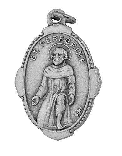 Traditional Catholic Saint Medal (Saint Peregrine)