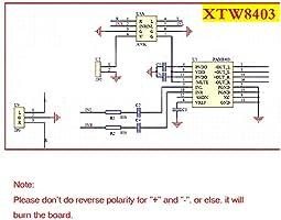 HiLetgo 5pcs Mini 3W+3W DC 5V Audio Amplifier Handy Digital Power ...
