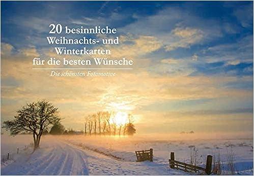 20 besinnliche Weihnachtskarten für die besten Wünsche: Amazon.de ...
