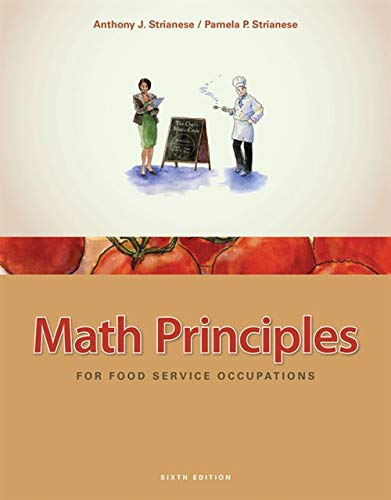 Math Principles for Food Service Occupations (Best Food Service Jobs)