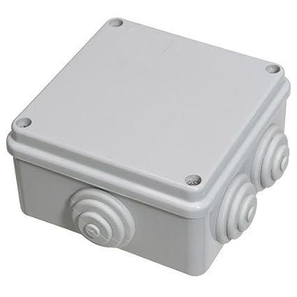 Caja Estanca Superficie Con Tornillo 100x100x50 mm.: Amazon.es ...