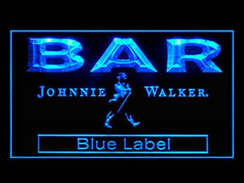 Johnnie Walker Whisky Blue Label BAR Drink Led Light Sign
