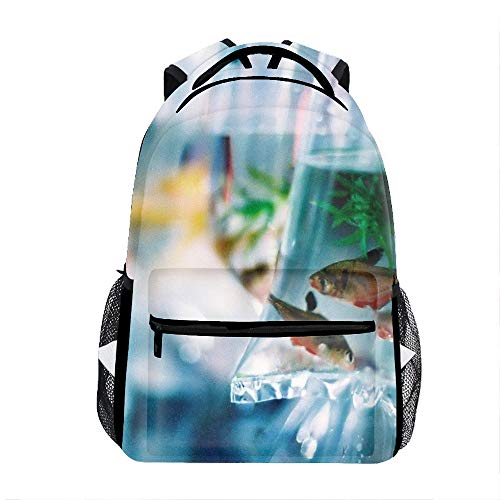 Fish Bag Water Kids Backpack School Book Bag for Toddler Boys Girls