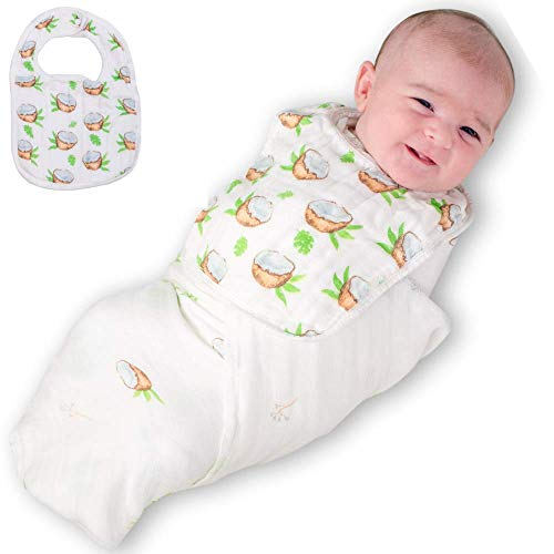 BambuBundles Swaddle Blanket for Receving Newborns: Extra Soft, Hypoallergenic, Antibacterial Baby Swaddle Wrap for Boys and Girls (47 x 47 inches)