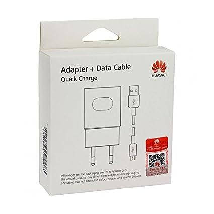 Huawei Cargador oficial Rápido Quick Charge HW-059200 para Huawei ...