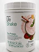 Shaklee Life Energizing Shake delicious non-GMO protein shake with pre- and probiotics - Strawberry