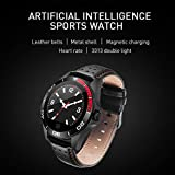 HHmei Smart Watch Sports Fitness Heart Rate Tracker Blood Pressure Calories Waterproof CK21 Smart Watch