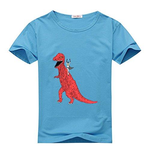 a T Dinosaur Weilediy Diy Blue Classic Men Tshirt Custom shirt R345SLqcAj