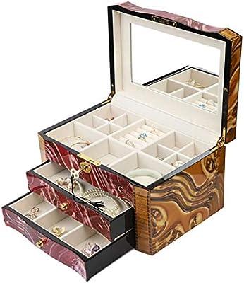 Caja De Joyería Organizador De Caja De Joyas Caja De ...