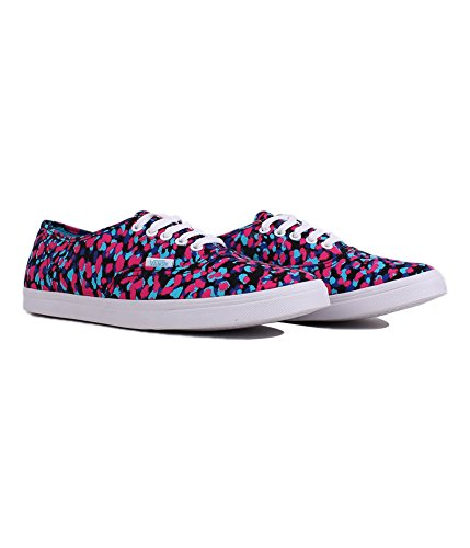 VANS Women's Authentic Lo Pro Vn-0w7n Shoe, Magenta/Blue Atoll, 7