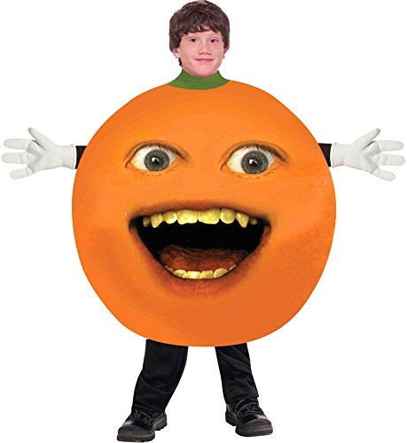 [Kids-Costume Annoying Orange Child Costume Halloween Costume - Most Teens] (Annoying Orange Kids Costumes)