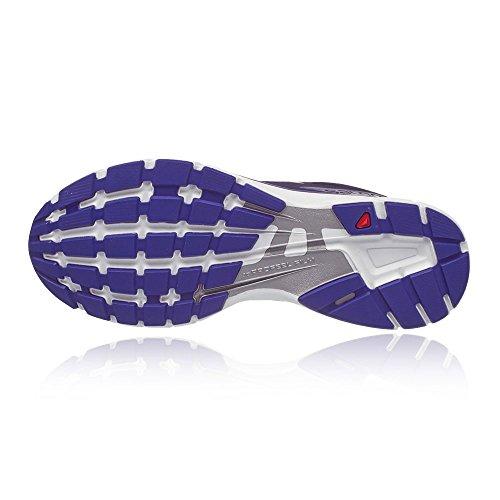 Salomon Sonic W, Zapatillas de Trail Running Mujer Azul (Evening Blue/White/Spectrum Blue)