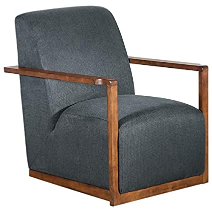 Cool Amazon Com Tommy Hilfiger Hamilton Wood Framed Armchair Short Links Chair Design For Home Short Linksinfo