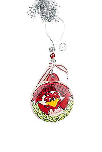 Glory Haus South Carolina Puff Ornament, Multicolor