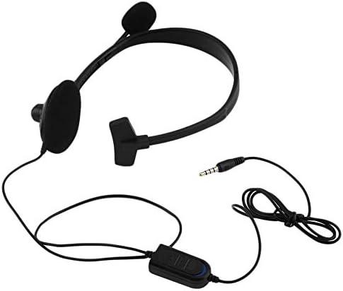 Peanutaoc - Auriculares de diadema para PS4, PlayStation 4 y PC (conector de 3,5 mm): Amazon.es: Hogar