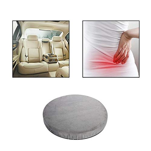 GOTOTOP Seat Cushion-Rotatory Chair Pad Coccyx/Tailbone & Sciatica Pain Relief, Seat Pillow Great As an Office Chair Cushion, Car Seat Cushion Wheelchair Cushion by GOTOTOP
