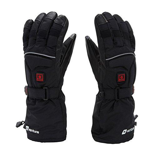 VentureHeat Epic 2.0 Battery Heated Gloves (Black, X-Large)