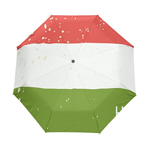 super3dprinted distressed hungary flag upf 50 anti uv parasol. Black Bedroom Furniture Sets. Home Design Ideas