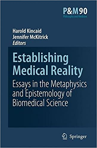 establishing medical reality essays in the metaphysics and establishing medical reality essays in the metaphysics and epistemology of biomedical science philosophy and medicine 2007th edition