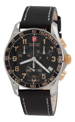 Victorinox Swiss Army Men's 241181 Classic Chronograph Black Dial Watch