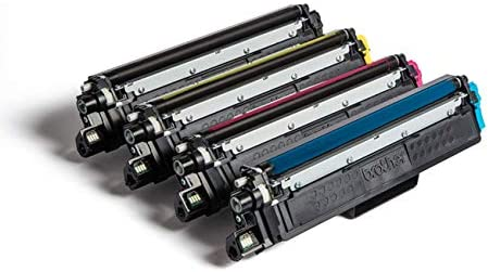 Brother Tn 247cmyk Original Toner Cartridge Prints Up To 1000 Pages Cyan Magenta Yellow And Black Bürobedarf Schreibwaren