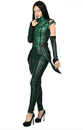 Amazon.com: xcostume Mantis Costume Suit for Womens ...