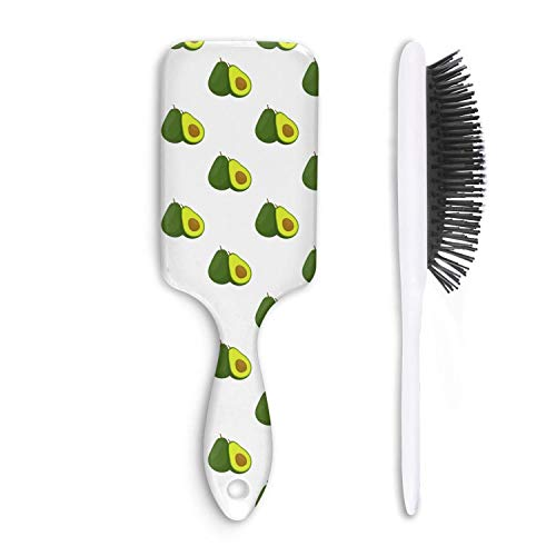 - Avocado Organic Slice Design Perfect Hair Brush Detangler for All Hair Types