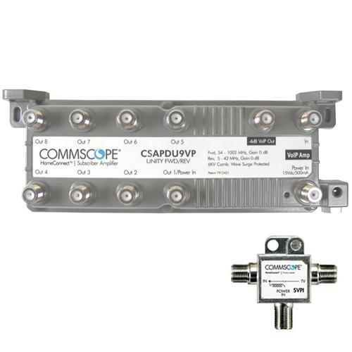 Commscope CSAPDU9VPI Passive VoIP Amplifier with Power Inserter