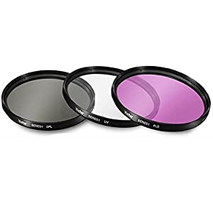 40.5mm UV Protective Filters for Sony Alpha A5000, A5100, A6000, A6300, A6500, NEX-5TL, NEX-6 Digital Camera That has Sony 16-50mm f/3.5-5.6 OSS Alpha E-mount Retractable Zoom Lens from Big Mike's