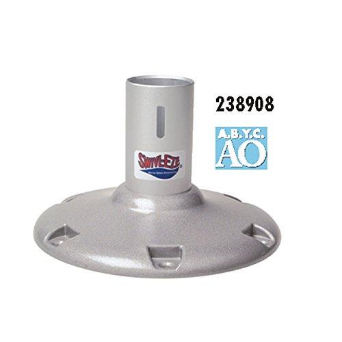 Fixed Height Pedestal - attwood 238908-1 238 Series Fixed Height Bell Pedestal-8