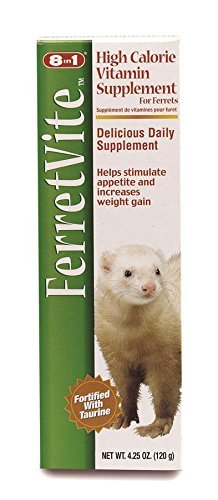 Eight in One 8 in 1 FerretVite Multi-Vitamin Paste, 4.25-Ounce (8 in 1)