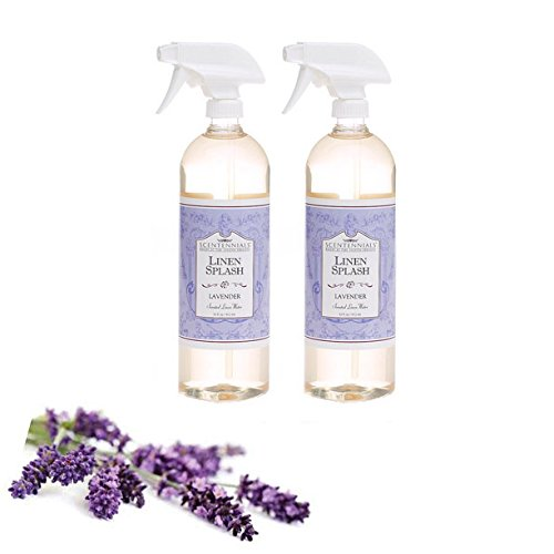 Scentennials Linen & Room Spray Lavender 32oz (2-Pack) - A Must Have for All Your linens, Laundry Basket or just Spray Around The House.