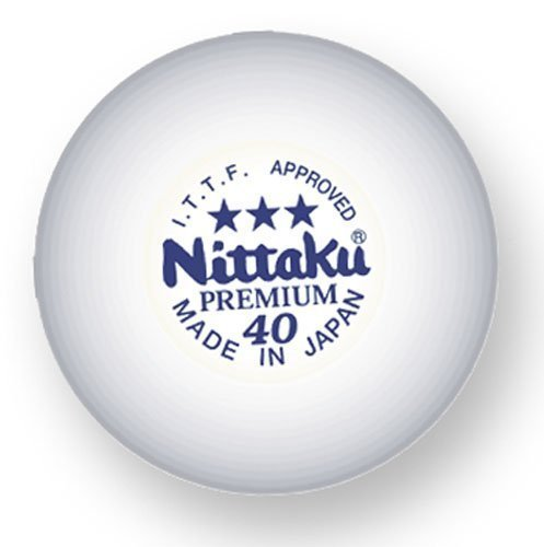 Review Nittaku Premium 3-Star Balls