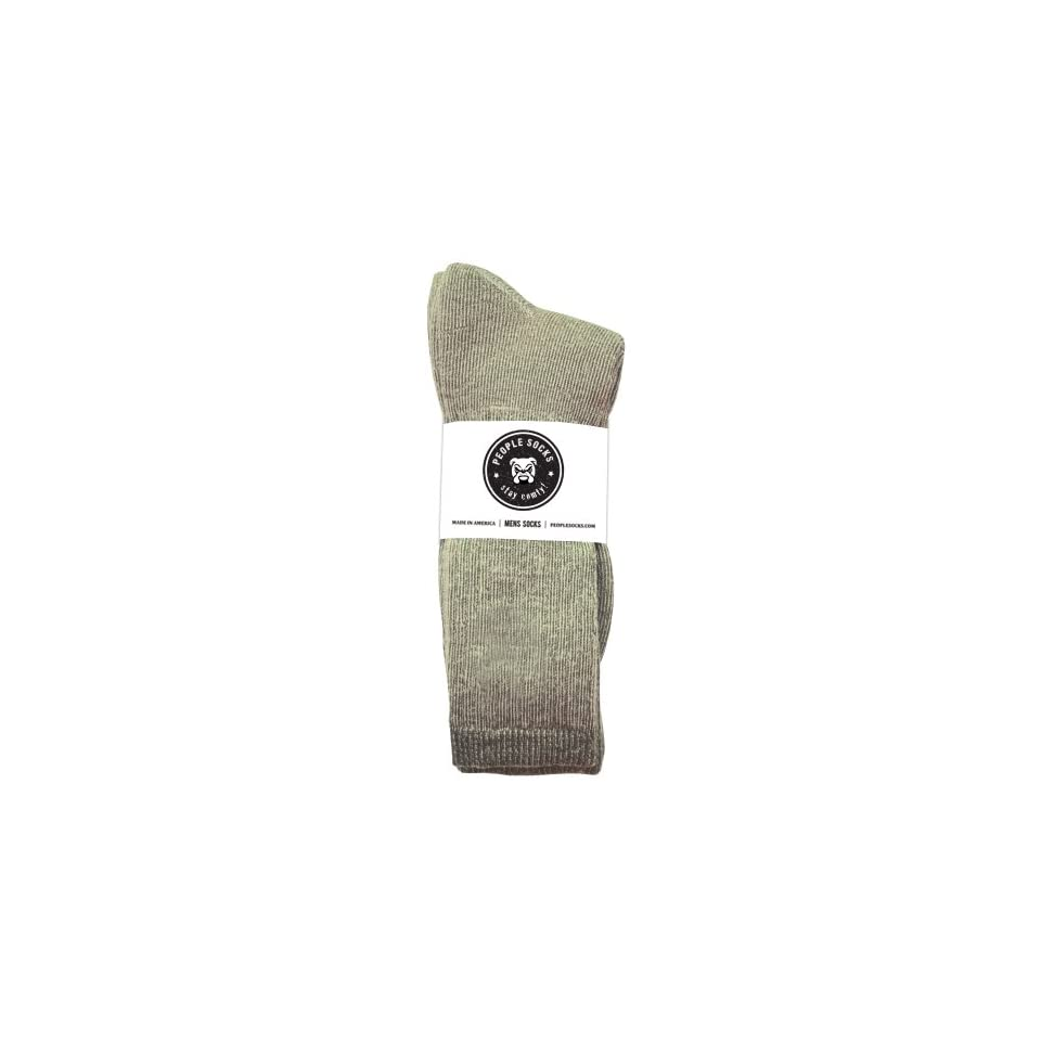 People Socks Unisex 71% Merino Wool Antimicrobial Crew Socks, 4 Pairs
